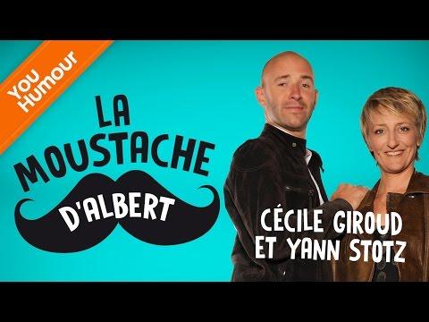 Cécile GIROUD § Yann STOTZ  - La Moustache d'Albert