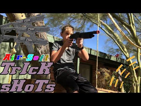 AIR-SOFT TRICK SHOTS!