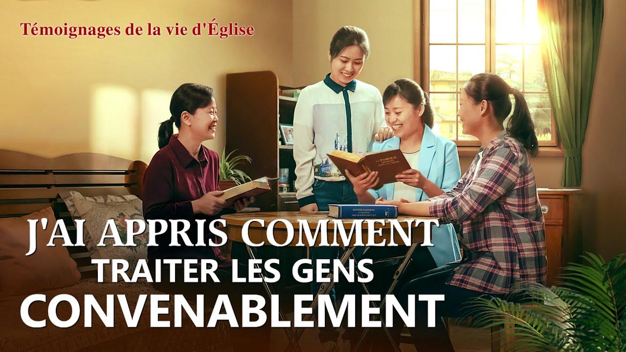 Témoignage chrétien en français 2020 « J'ai appris comment traiter les gens convenablement »