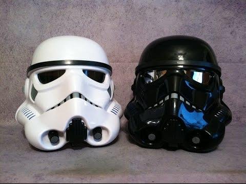 Star Wars Black Series Stormtrooper and Amazon Exclusive Shadow Trooper Helmet Review
