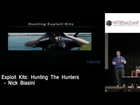 #HITB2016AMS D1T1 - Exploit Kits: Hunting The Hunters - Nick Biasini