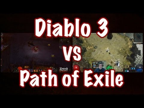 Diablo 3 vs Path of Exile - A Side By Side Analysis