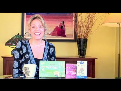 Herbal Teas for Weight-Loss: Milk Thistle, Hibiscus and Green Tea!