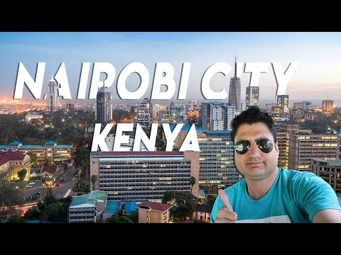 Nairobi City Life & People | My Last Day in Kenya & Africa