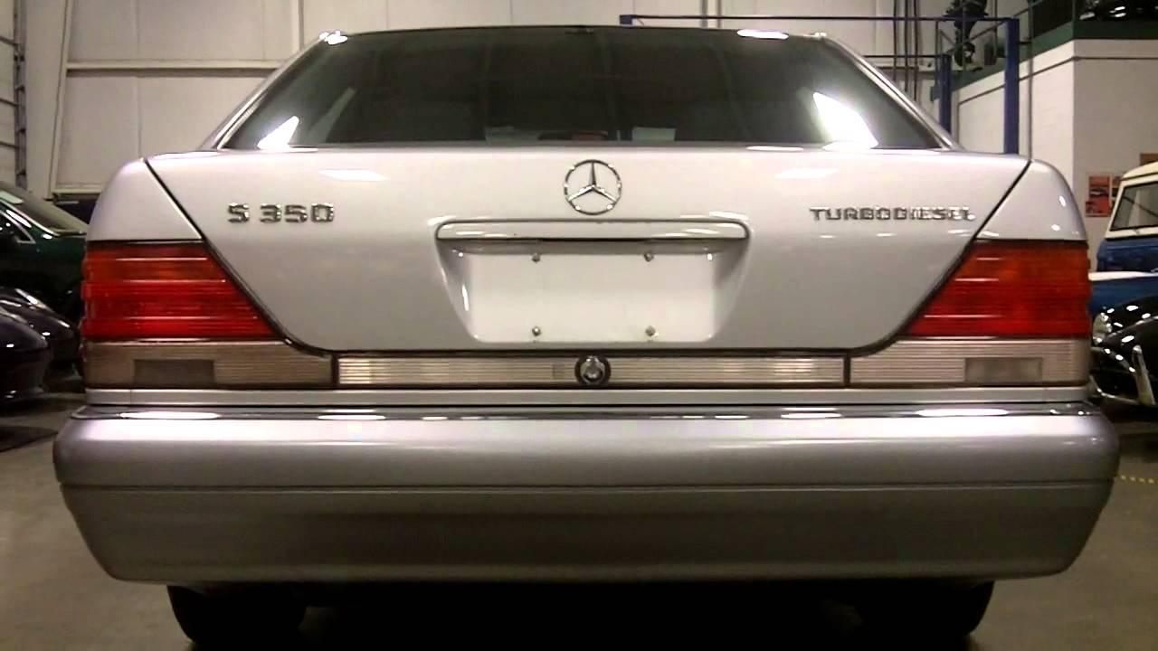 1996 Mercedes Benz S350 Turbo Diesel Sedan Youtube