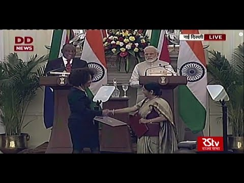 Joint Press Statement by PM Narendra Modi & South African President Cyril Ramaphosa
