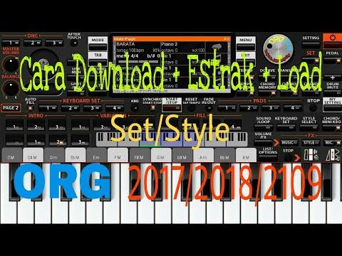 How to Download + Estrak + Load Style sets/ORG 2017/2018/2019