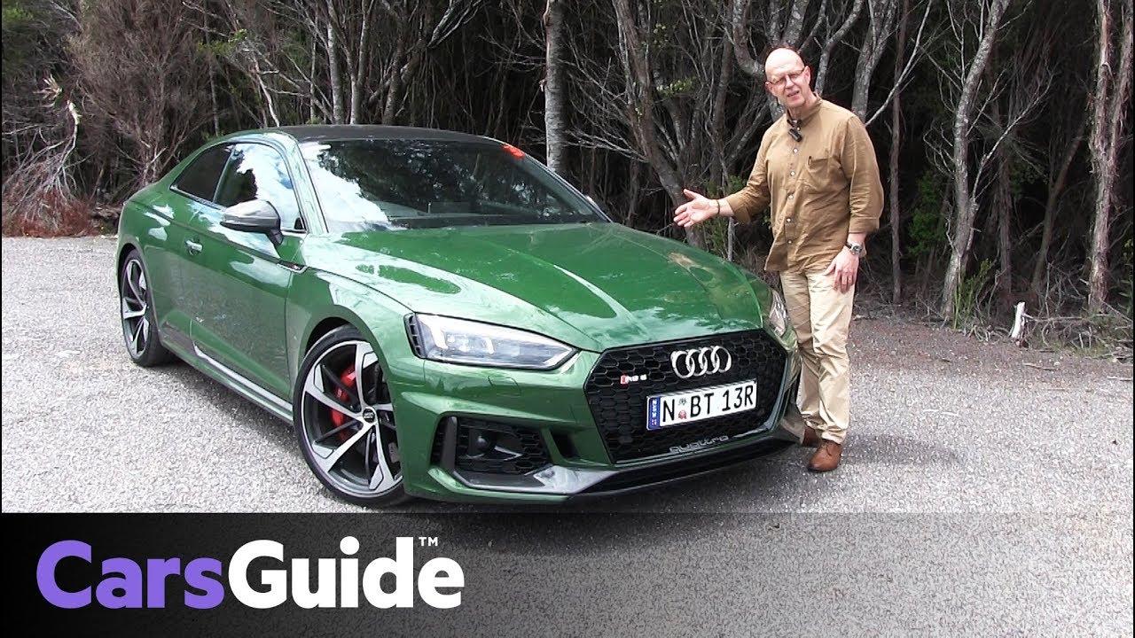 Audi RS5 2018 review - Dauer: 9 Minuten, 17 Sekunden