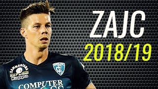 Miha Zajc • 2018/19 • Empoli • Best Skills, Passes & Goals • HD