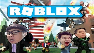 Disaster disasters-Roblox Natural Disaster Survival