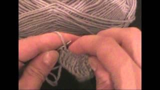 ★★★ Уроки вязания спицами | Узор для шарфика - Часть 2 . ★★★