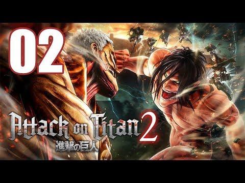 Attack on Titan 2 - Gameplay Walkthrough Part 2: 104 Cadet Corps