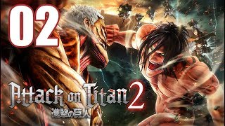 Attack on Titan 2 - Gameplay Walkthrough Part 2: 104 Cadet Corps