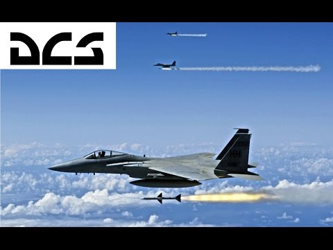 DCS: F-15C SARH Street - Aim7 & Aim9 Kills and Tips - Episode 1
