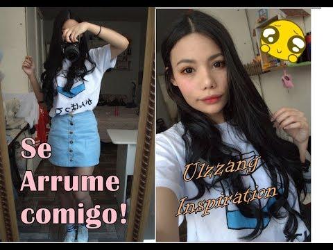 SE ARRUME COMIGO | Make e look Ulzzang inspiration