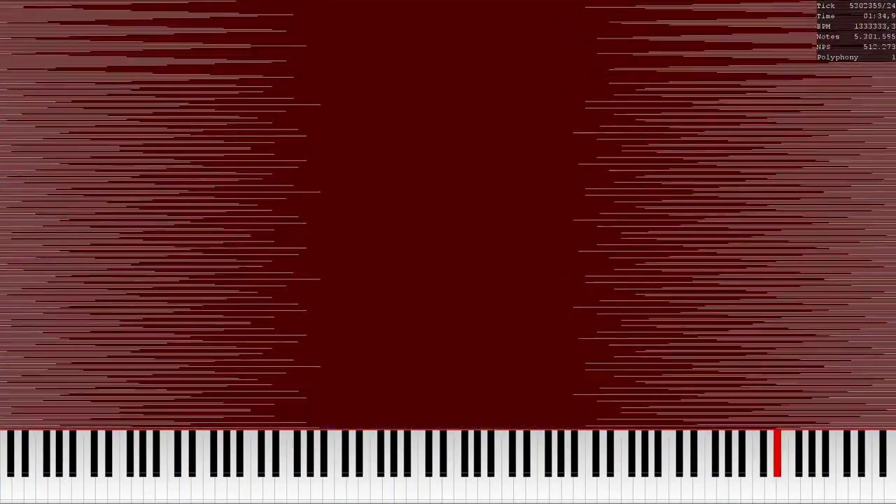 [Black MIDI] NUT.mid, nut2.mid, nut3.mid