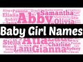 ♥ ♥ ♥ BABY GIRL NAMES ♥ ♥ ♥