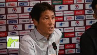 Nishino press conference after draw Vietnam 0-0
