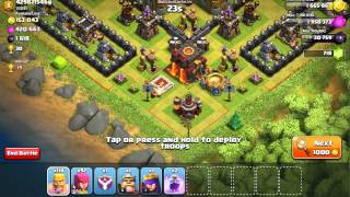 clash of clans client and server are out of sync! FIX ))))