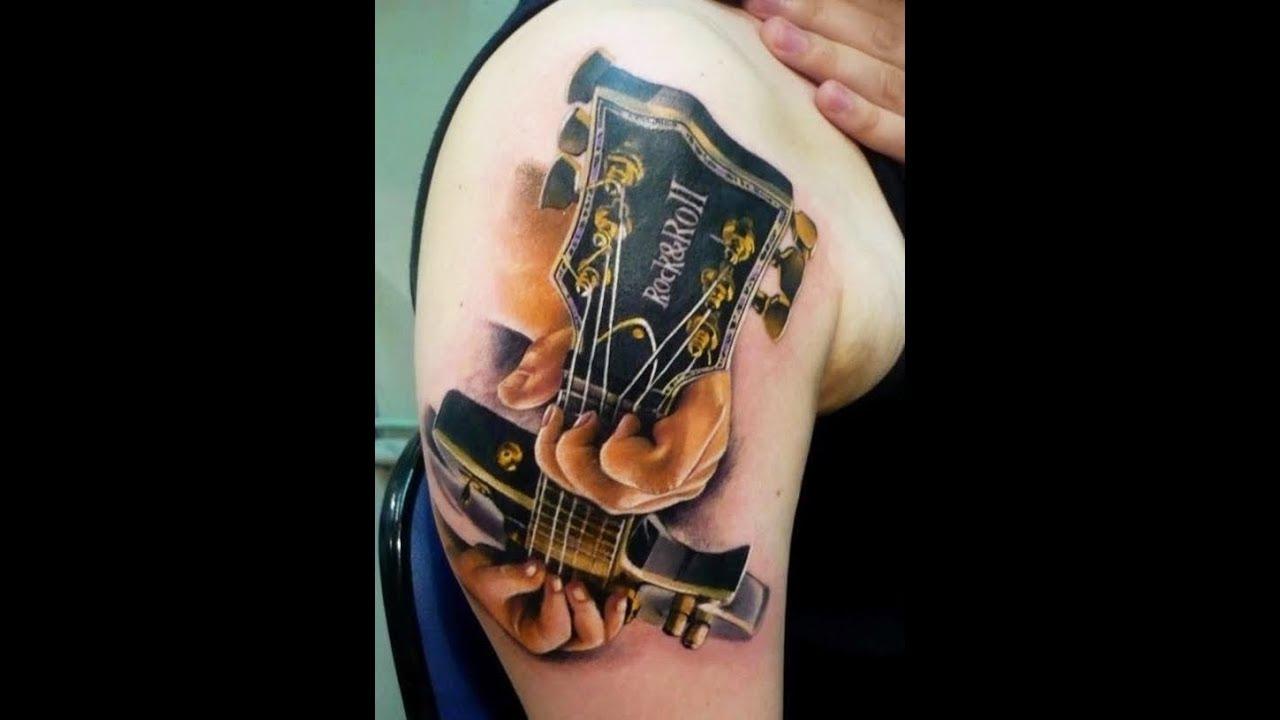 Guitar Tattoo Designs Youtube