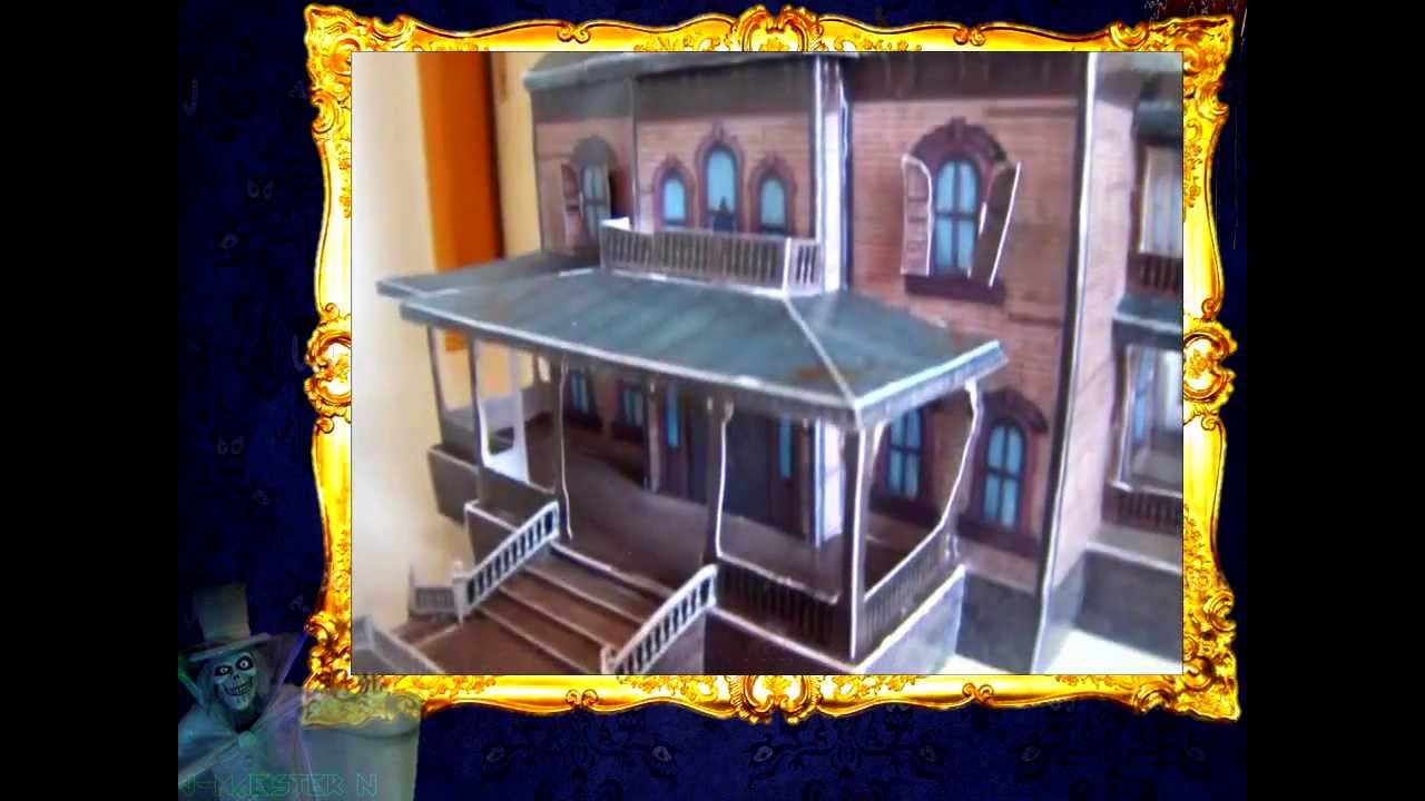 Papercraft Phantom Manor Disneyland Paris Paper Model