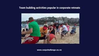 Team building activities popular in corporate retreats - Corporate Challenge Events