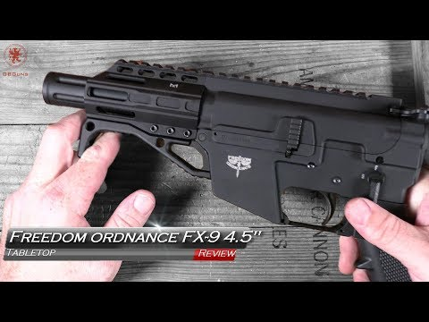 "Freedom Ordnance FX-9 4.5"" Tabletop Review"