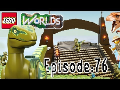 Let's Build LEGO Jurassic World: Part 1: Let's Play Lego Worlds: Episode 76