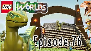 Let's Build LEGO Jurassic World: Part 1: Let's Play Lego Worlds
