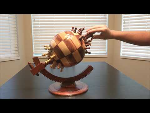 Globe Chess Board