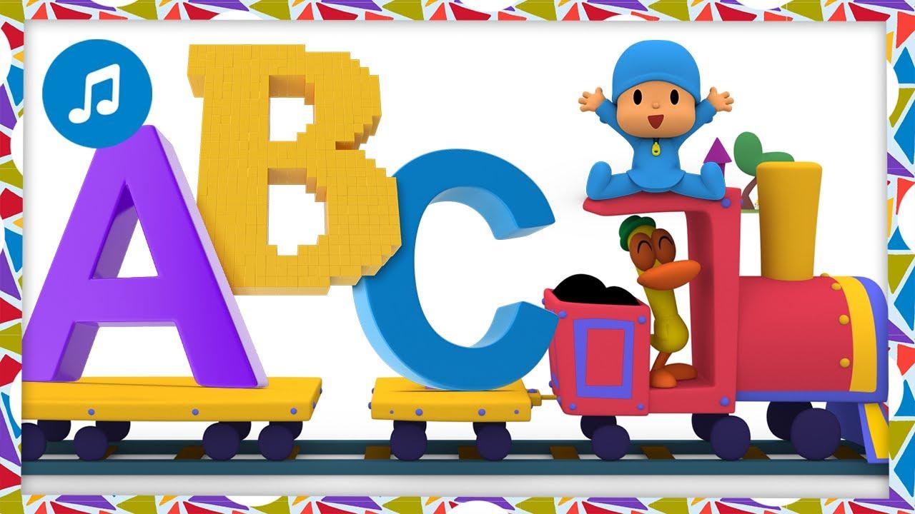 🔠 ABC [ Aprende el abecedario ] Caricaturas, Dibujos, Canciones Infantiles para niños - Pocoyo