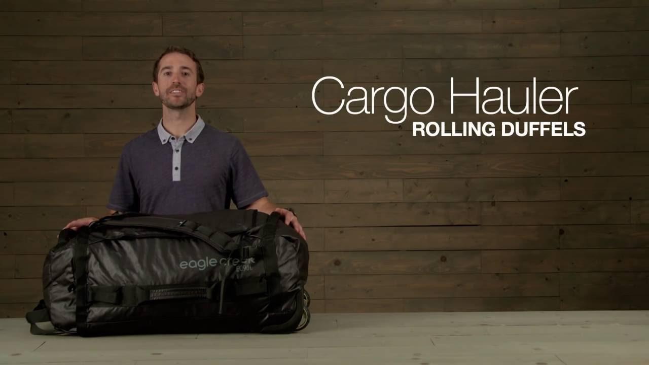 Cargo Hauler Rolling Duffels - YouTube 58acb8b913