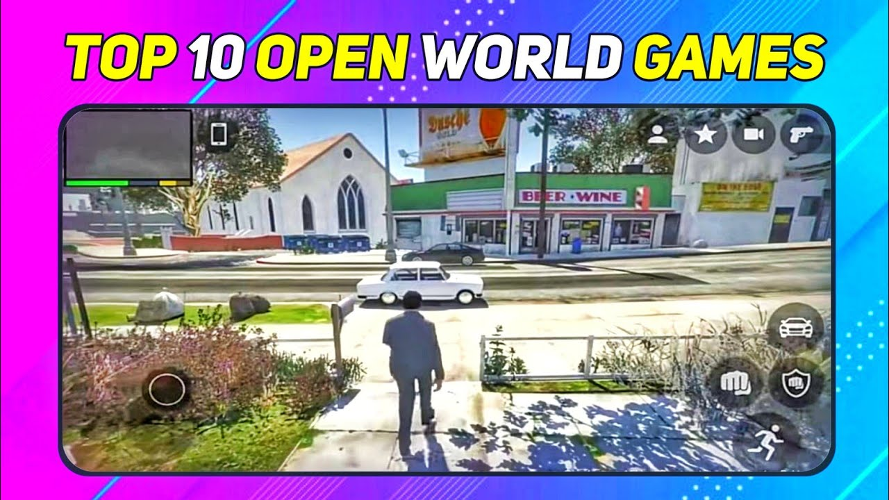 Top 10 open world games (like gta 5) under 100 mb on android TOPNTOPTECH