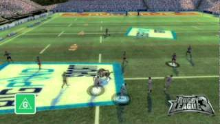 Rugby League 3 for Wii trailer