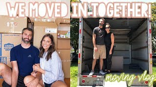 WE MOVED IN TOGETHER! -- MOVING VLOG | Sarah Brithinee