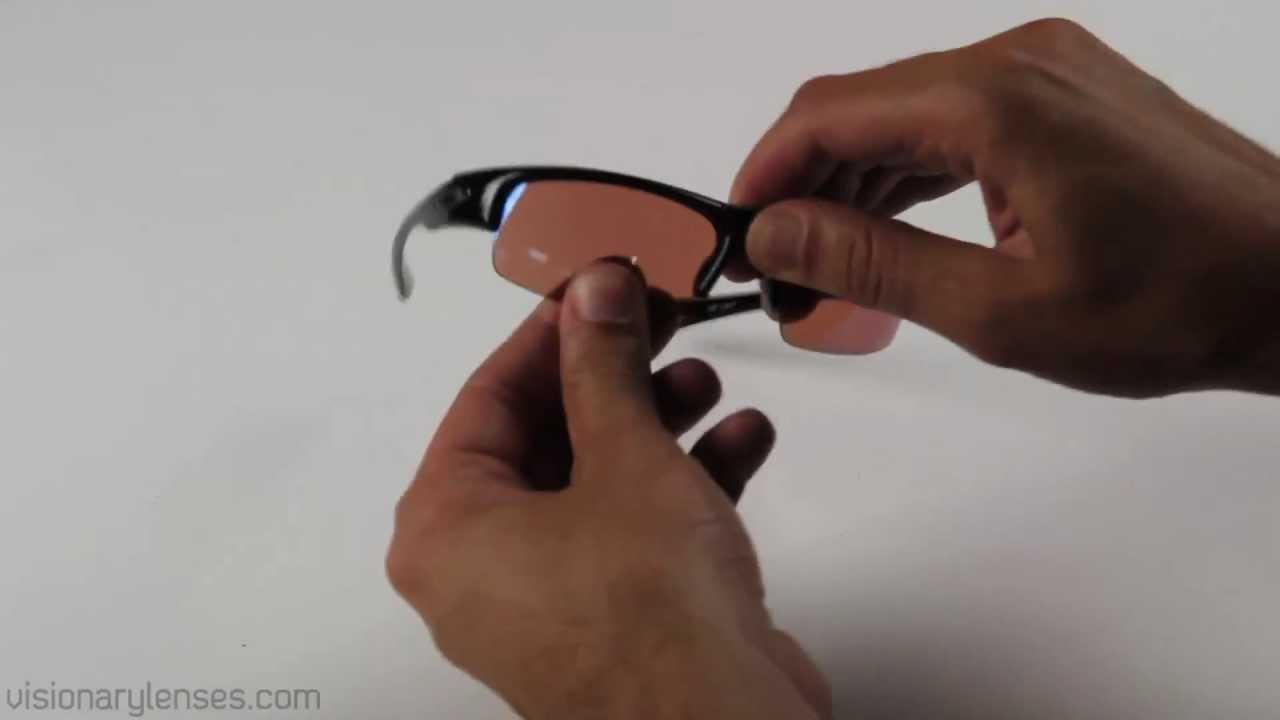 faa5d5138294d Oakley Bottlecap Lens Installation Video    Visionary Lenses - YouTube