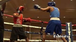 [WOW] Amateur Gets TKO At WBC Green Belt Challenge EsNews Boxing