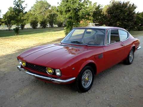 1967 Fiat Dino 2 0 Coupe Ferrari Youtube
