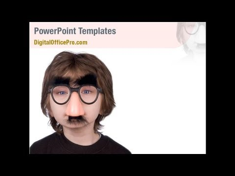 Funny Kids PowerPoint Template Backgrounds