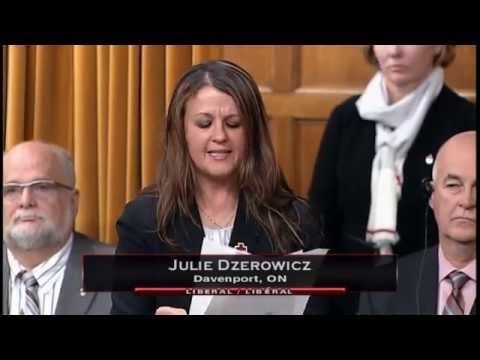 MP Julie Dzerowicz Speaking on the Carnation Revolution - May 9, 2016