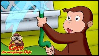 Coco der Neugierige Affe 🐵Wasser Marsch! 🐵Ganze Folgen Staffel 5 🐵Cartoons für Kinder