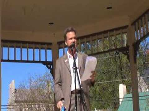 David Swanson Speaks At Jonesborough, Re: DU Plant Part 2