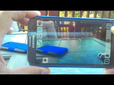 Samsung - Galaxy Note New Camera MX Review
