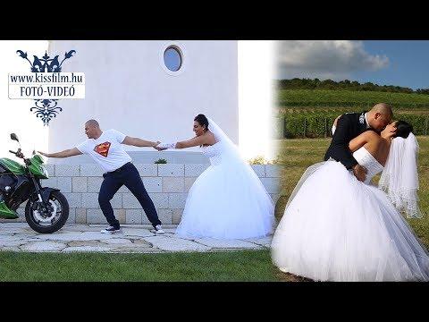 Orsolya és Tibor esküvői felvételei (Kemecse-Kótaj ,Borostyán Étterem)