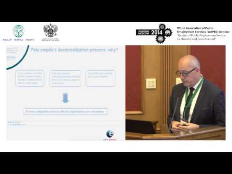 03. Mr Jean-Pierre CALLAIS, Head of Department for International Cooperation, Pôle emploi, France