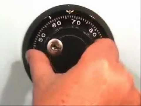 Dialing a Combination Lock Video (S&G)