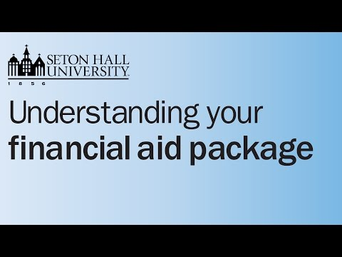 Understanding Your Financial Aid Package