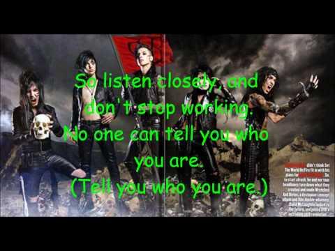 Black Veil Brides- The Legacy Karaoke with Lyrics