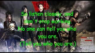 Black Veil Brides- The Legacy Karaoke with Lyrics