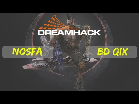 nosfa vs BD Qix | Quake Champions | Dreamhack Winter | qualifiers | South America